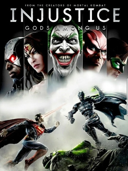 Injustice:gods Among Us Xbox360 Midia Digital