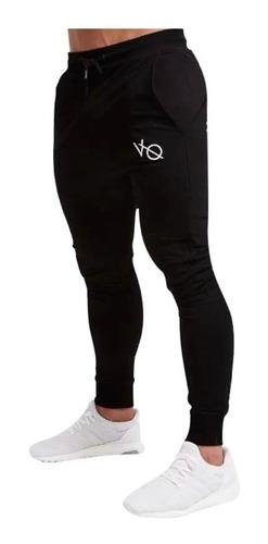 Imagen 1 de 10 de Pants Jogger Deportivo Slim Fit Vanquish Fitness V Q Bordado