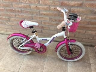 Bicicleta Raleigh Lilhoney Rod. 16 Nena