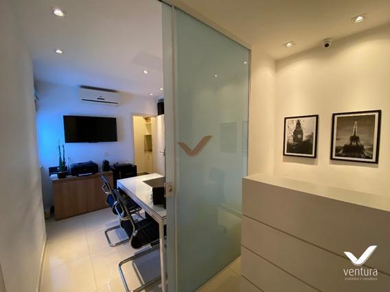 Sala Mobiliada Para Locação Na Rua Dr. Nelson De Sá Earp Em Petrópolis - Sa00011 - 68199661