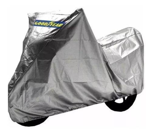Imagen 1 de 3 de Funda Cubre Moto Good Year Protección Doble Costura Talles