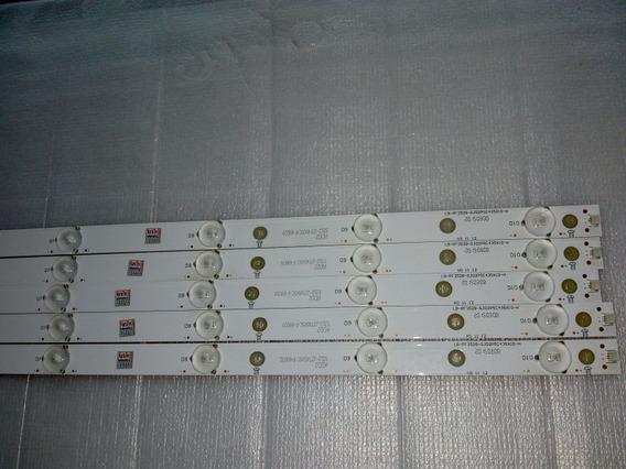 Kit De Barras De Led Philips 43pfg5000/78 , Aoc Le43d1452