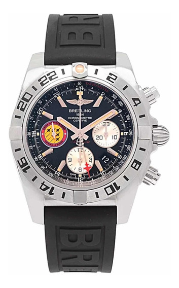 Relógio Breitling Chronomat 44 Steel Gmt Patrouille Suisse