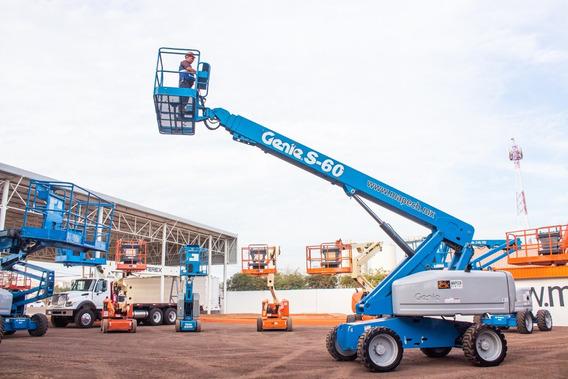 Renta Plataforma Elevada Genie S60 60 Pies Culiacán Renta