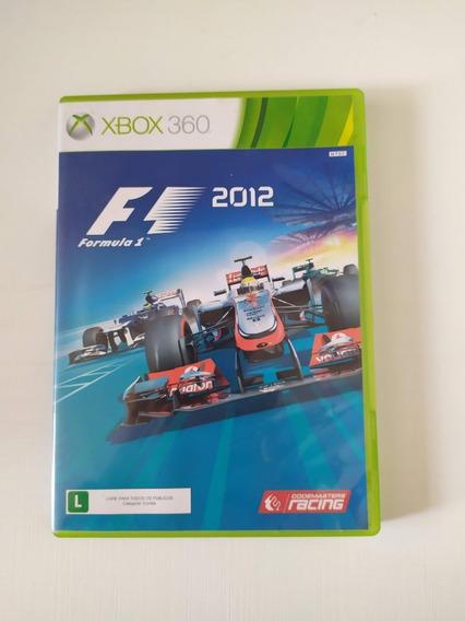 Jogo Xbox 360 Formula 1 2012 Mídia Física Original Microsoft