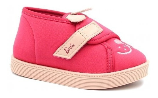 Tênis Infantil Grendene Barbie Fashion Pet 21779 // Rosa