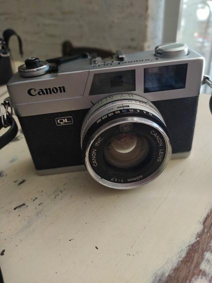 Máquina Fotografica Canon Canonet Ql 17