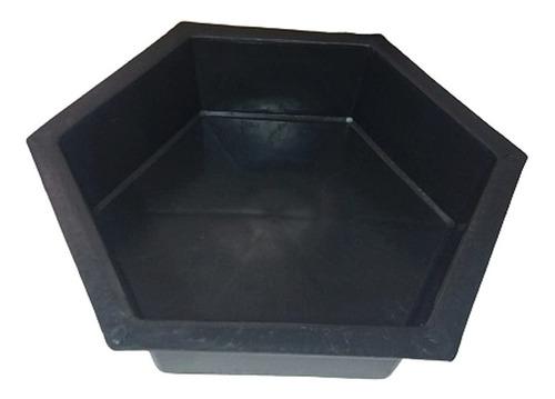 Forma Sextavada De Plástico Resistente 25x25x08 !
