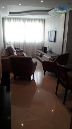 Apartamento Com 4 Dormitórios À Venda, 82 M² Por R$ 350.000 - Macedo - Guarulhos/sp - Ap0906