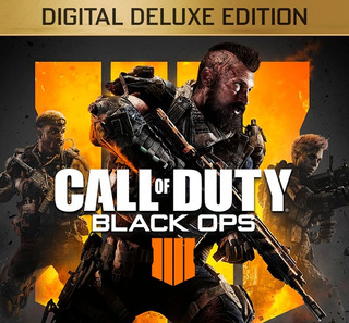 Call Of Duty Black Ops 4 Iv Deluxe Ed. Digital Con Tu User!
