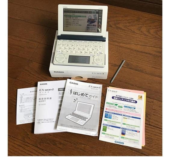 Ex Word Casio Ex Data Plus 6, Dicionario Japonês Inglês.