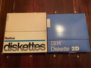 Diskette O Floppy Disk 8 Ibm Basf Nashua Retro Made In Usa