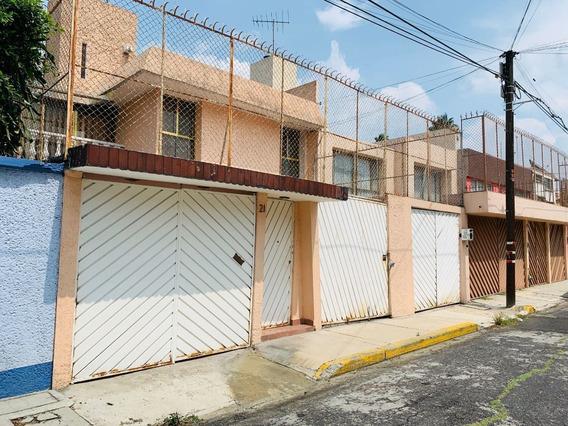 Venta Casa En Calle Cerrada En Residencial Coapa