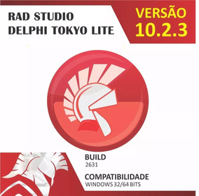 Rad Studio Delphi 10.2.3 Tokyo Lite + 20 Componentes