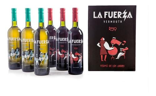 Imagen 1 de 5 de Caja 6 Botellas La Fuerza Mix (3 Blanco + 3 Rojo)