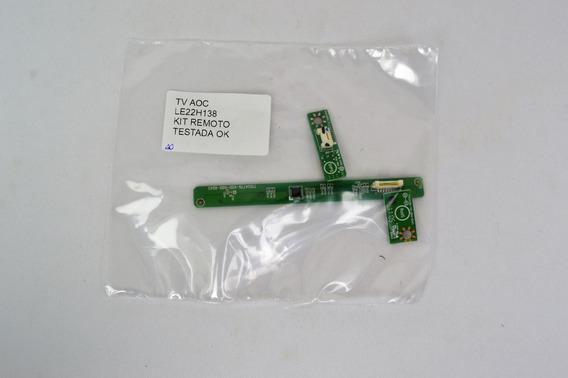 Kit Sensor Remoto Tv Aoc Le22h138