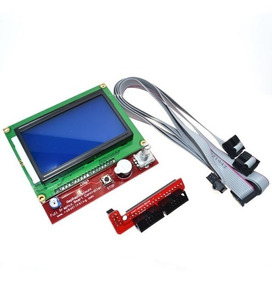 Display Lcd 128x64 12864 Painel Controle Impressora Ramps 3d