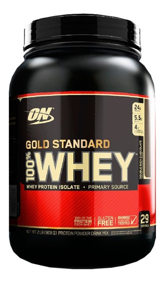 100% Whey Protein 2lb Gold Standard - Optimum Nutrition