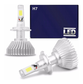 Par Lâmpadas Super Led H7 6000k 12v 24v Headlight 6400lm