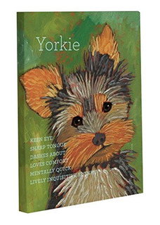 Bentin Mascota Decoración Yorkie1 Decoración De Pared
