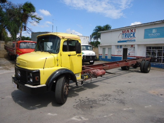 Mercedes-benz Mb 1113, 1985, Toco, Chassi Longo 10,20 Mts