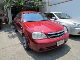 Chevrolet Optra Lt Automatico 2009 Rojo