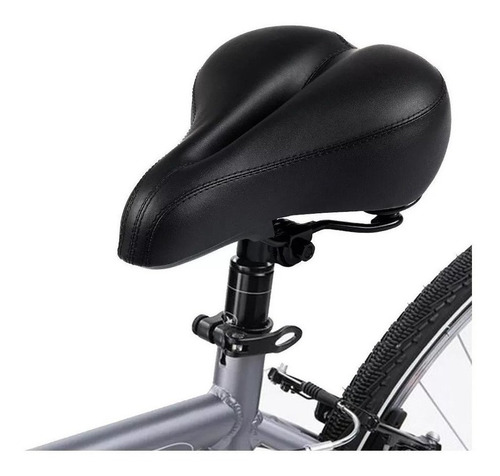 Asiento Completo De Bicicleta Gel Super Cómodo Mullido Bola8
