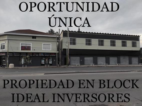 Dueño Vende:inmejorable Propiedad En Block. Casi 1500mts Cub