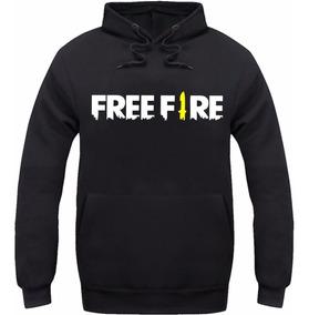 Kit Moletom + Camiseta + Boné Trucker Free Fire Freefire