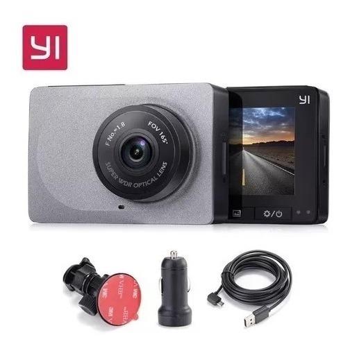 Câmera Filmadora Veicular Yi Smart Dash Com Visao Noturna Hd
