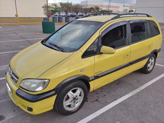 Gm Chevrolet Zafira Elegance 2.0 Aut Flex/gnv 7 Lugares