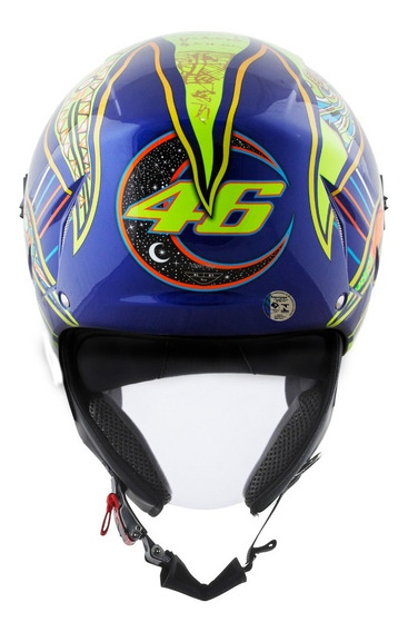 Capacete Agv Blade Five Continents Brinde 12x