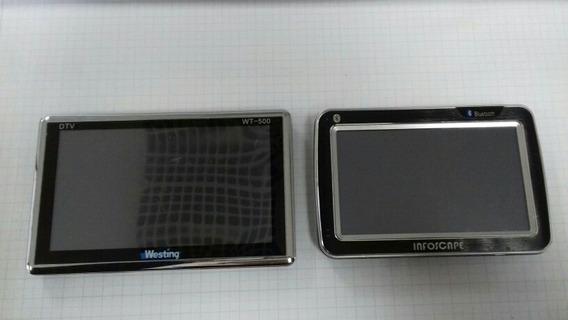 Kit Com 2 Gps Westing Wt-500 + Gps Infoscape 4,3