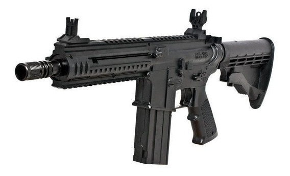 Rifle Umarex Steel Force Steelforce M4 Ar15 Co2 Ráfaga Auto