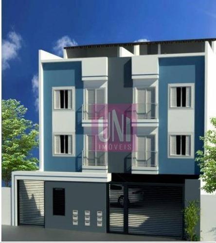 Cobertura Com 2 Dormitórios À Venda, 90 M² Por R$ 310.000,00 - Parque Capuava - Santo André/sp - Co0909