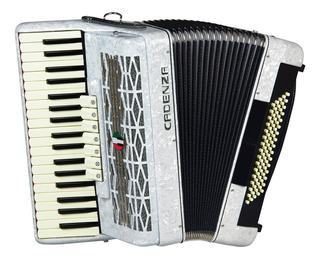 Acordeon Cadenza Cd80/37 Wh 80 Baixos Branco