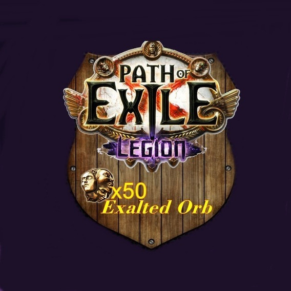 50x Exalted Orb - Path Of Exile - Legion Sc (pc)