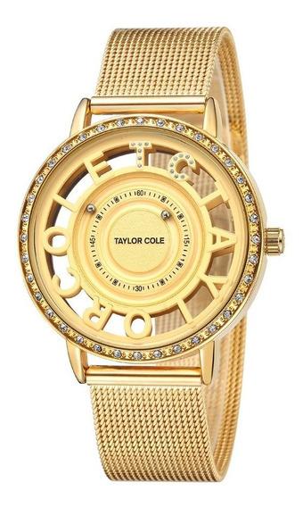 Relógio De Quartzo De Luxo Com Logotipo Exclusivo Da Coroa E