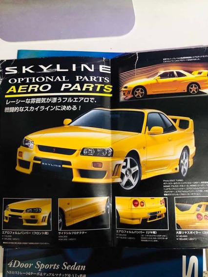 Nissan Skyline R34 Gtx Catálogo Original