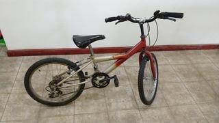 Bicicleta Rodado 20 Tipo Aurorita Con 18 Velocidades En Buen