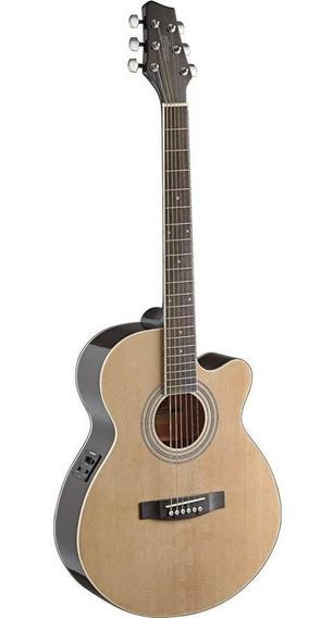 Guitarra Electroacustica Tapa De Pino Clav. Blindados.eq. 5