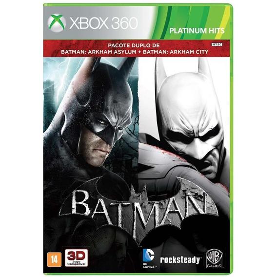 Batman Arkham Asylum + Arkham City - Xbox 360 Fisica