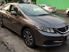 Honda Civic 2.0 Ex Sedan . At 2013