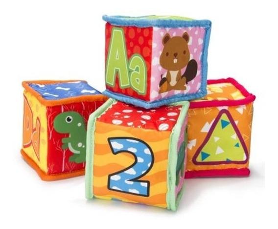 Cubos Suaves Apilables Bebé Spark Create Estimulación