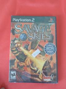 Jogo Playstation 2 Savages Skies Original Novo Frete Grátis