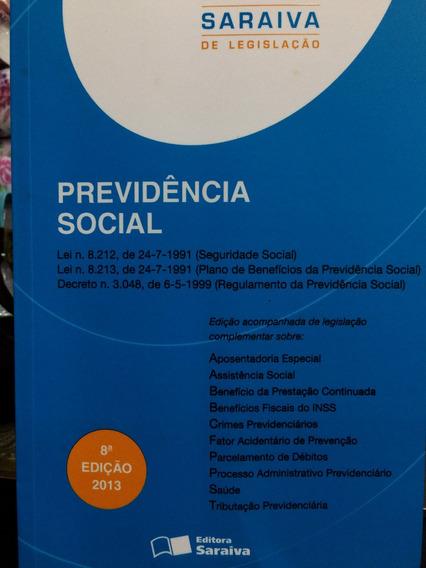 Livro Previdência Social 8 Edição 2013- Legislação Ampliada