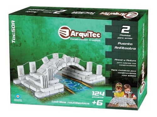 Arquitec Ladrillos Reutilizables 124 P. Art. Tec50a E.full