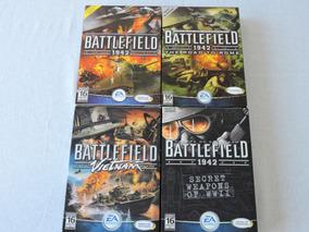 Lote Battlefield 1942 Original Colecionador Jogo Pc