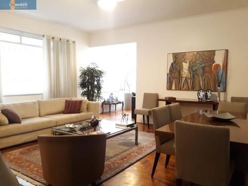 Imagem 1 de 9 de Apartamento Para Venda No Bairro Higienópolis Em São Paulo - Cod: Pc99869 - Pc99869