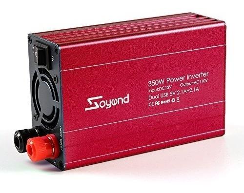 Inversor Convertidor Carro 120v 12v 350 Watts